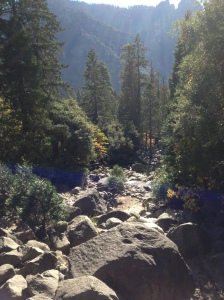 Dry River bed from Yosemite Falls