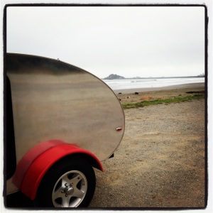 The Acorn and I finally reached the Pacific Coast.